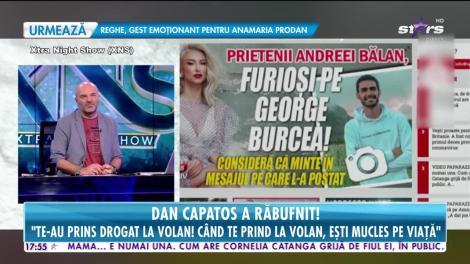 Star News. Dan Capatos, replică dură la adresa lui George Burcea. Prezentatorul TV a răbufnit