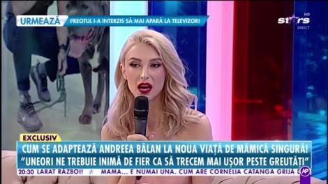 """Ți se rupe sufletul! Andreea Bălan a povestit ce le-a spus fetițelor sale despre """"plecarea lui tati"""" de acasă"""