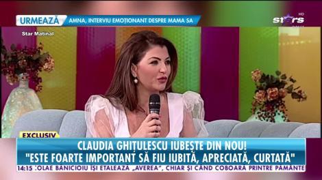 Star News. Claudia Ghițulescu iubește din nou: M-aș bucura să găsesc un soț cum este tatăl meu