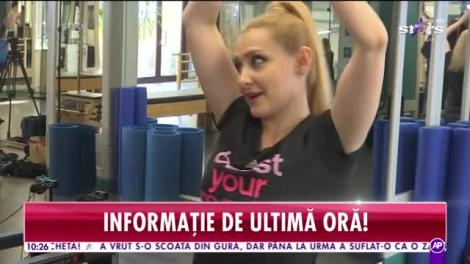 Star News. Ce face Alina Sorescu pentru a se menţine în formă. Sportul preferat al artistei