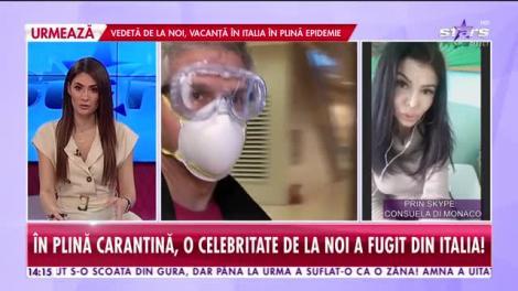 Star News. Consuela di Monaco s-a refugiat în România din cauza coronavirusului, iar acum nu mai poate pleca