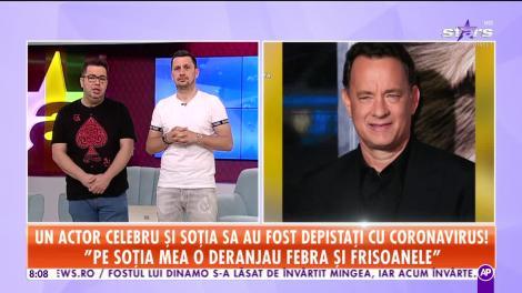 Actorul Tom Hanks şi soţia sa, diagnosticaţi cu coronavirus (Covid-19)