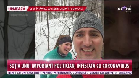 Star News. Soția unui important politician din Canada, infestată cu coronavirus