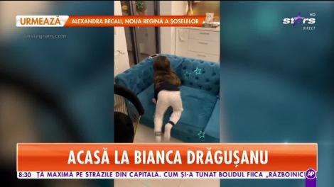 Star Matinal. Cum o răsfață Victor Slav și Bianca Drăgușanu pe micuța Sofia
