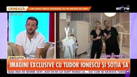 Tudor Ionescu de la Fly Project, în ipostaze tandre alături de frumoasa lui soţie