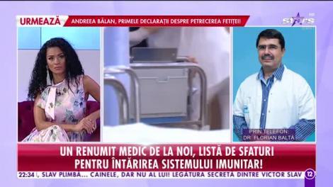Agenția Vip. Doctorul Florian Baltă, informații utile în plină pandemie de coronavirus