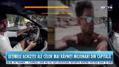 Ultimele achiziţii motorizate ale celor mai râvniţi milionari din Capitală