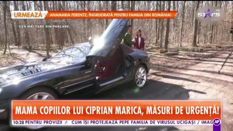 Ioana Marcu, mama copiilor lui Ciprian Marica, măsuri de urgenţă!