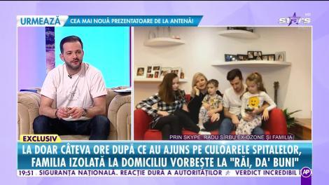Băieţelul lui Radu Sîrbu a făcut febră 40, iar medicii i-au pus diagnosticul pe loc