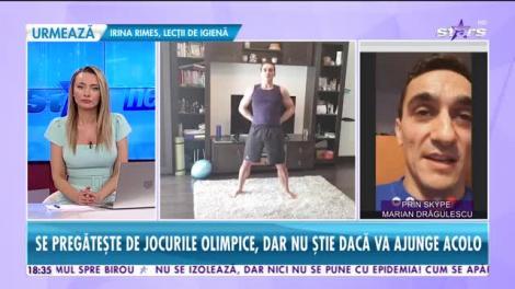 Marian Drăgulescu a găsit o metodă specială de a se menține în formă