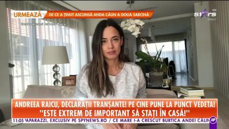 Andreea Raicu face un apel disperat. Declaraţiile tranşante prin care îi pune pe români la punct