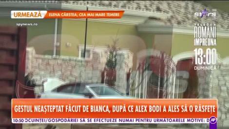 Dulce-i împăcarea! Cum o răsfață Alex Bodi pe Bianca Drăgușanu în plină pandemie