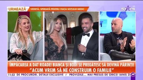 Împăcarea a dat roade! Alex Bodi şi Bianca Drăguşanu se pregătesc să devină părinţi!