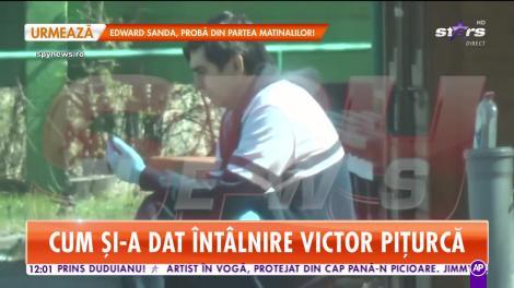 Victor Piţurcă, măsuri radicale. Cum l-au surprins paparazzii