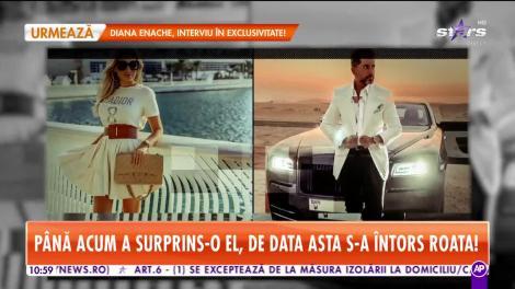 Ela Arjandas, surpriză pentru soțul milionar!