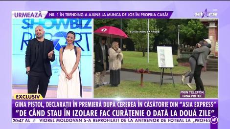 Gina Pistol, declarații în premieră după cererea în căsătorie din Asia Express