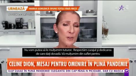 Celine Dion, gest emoționant! S-a filmat și a transmis un mesaj, aproape implorând. Cuvintele vedetei sunt adresate întregii omeniri