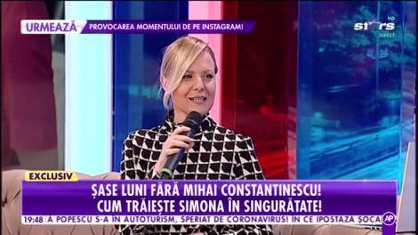 Șase luni fără Mihai Constantinescu. Cum trăiește Simona Secrier în singurătate