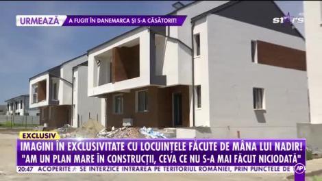 Imaginile momentului! Nadir muncește pe șantier! Artistul construiește ceva unic în România
