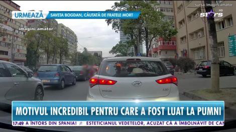 Reglare de conturi în centrul capitalei! Iubitul Margheritei de la Clejani, snopit în bătaie, în trafic în plină zi! |VIDEO