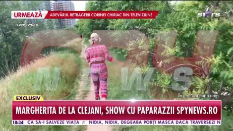 """VIDEO  Marga de la Clejani, înjurături ca la ușa cortului! Reacție violentă a Margheritei, la adresa paparazzilor! """"Sunt violentă că vreau și că pot!"""""""