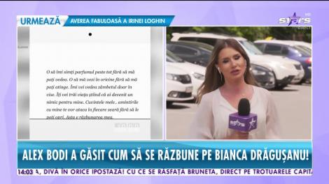 Alex Bodi a găsit cum să se răzbune pe Bianca Drăguşanu