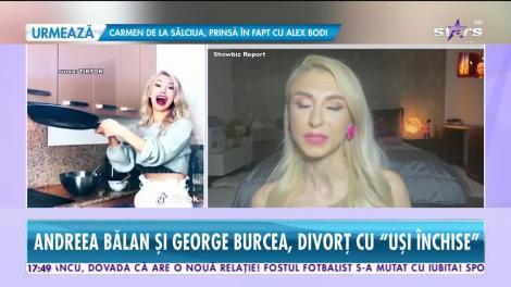Andreea Bălan și George Burcea, divorț în secret