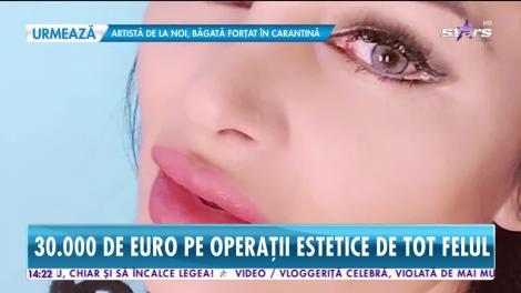 Brigitte Sfăt a învestit 30.000 euro în operaţiile estetice