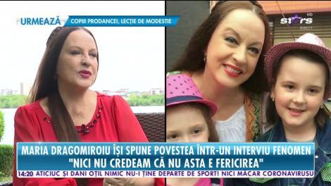 Maria Dragomiroiu, interviu fenomen. Povestea neștiută a artistei