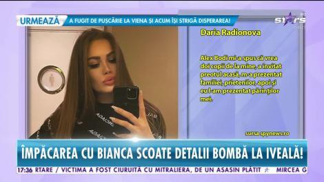 Ce s-a întâmplat între rusoaica Daria şi Alex Bodi
