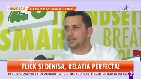 Cum îşi răsfaţă Flick noua iubită! Domnul Rimă este mai îndrăgostit ca niciodată de frumoasa Denisa! | Video