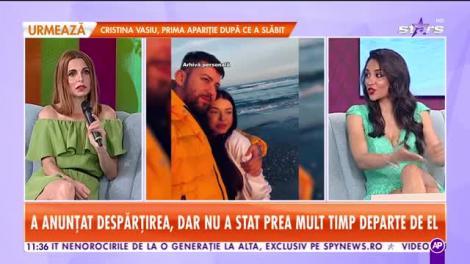 Ana Mocanu, escapadă romantică după împăcare