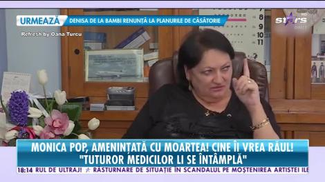 Monica Pop a fost ameninţată cu moartea. Poliţia a intervenit de urgenţă