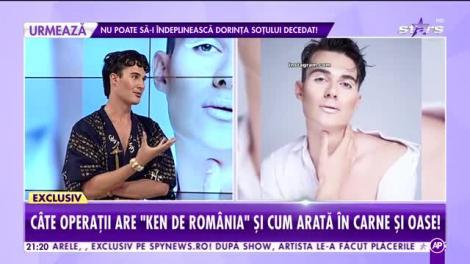Ken de România, demonstrație de make-up în direct