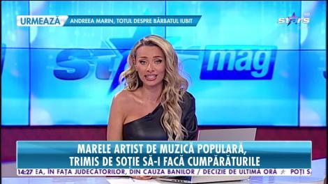Marele artist de muzică populară, Constantin Enceanu, surprins într-un magazin de cosmetice