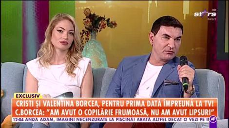 Cristi și Valentina Borcea, pentru prima dată împreună la tv!