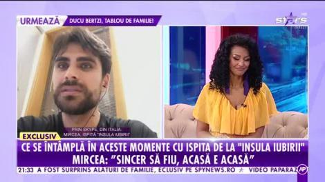 """Mircea, de la """"Insula iubirii"""" și-a întâlnit femeia visurilor! Cum arată iubita ispitei! """"E italiancă, seamănă cu Monica Bellucci""""  Video"""
