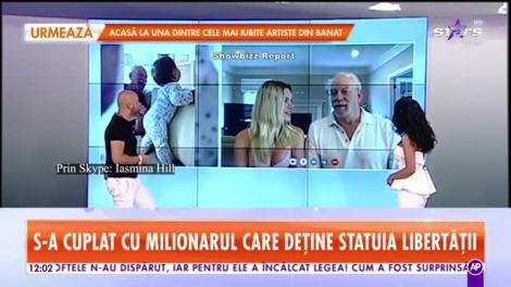 Românca din Timişoara, căsătorită cu proprietarul Statuii Libertăţii, șase ani de relaţie cu soţul milionar
