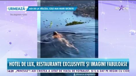 Imagini din vacanța de vis a Biancăi Drăguşanu şi a lui Alex Bodi! Cei doi se răsfață în paradisul milionarilor!   Video