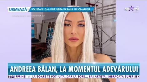 Andreea Bălan a trecut peste despărţirea de George Burcea: Vreau să mă schimb