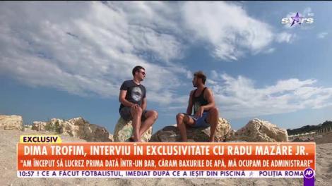 Exclusivitatea momentului! Dima Trofim, interviu în premieră cu Radu Mazăre Junior!