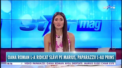 În ce ipostaze a fost filmat Marius Elisei, soțul Oanei Roman, în public