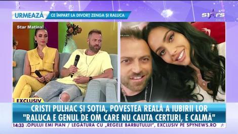 Cristi Pulhac și soția, povestea reală a iubirii lor: A fost dragoste la prima vedere!
