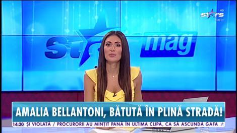Amalia Bellantoni, bătută în plină stradă. Ce s-a întâmplat cu agresorii concurentei de la Chefi la Cuțite