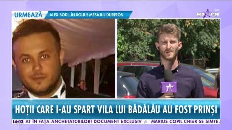 Prima reacţie a lui Gabi Bădălău după ce Poliţia i-a prins pe cei care l-au jefuit!
