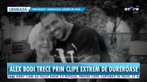 Lacrimi și suspine pentru Alex Bodi! Iubitul Biancăi Drăguşanu și-a pierdut bunica