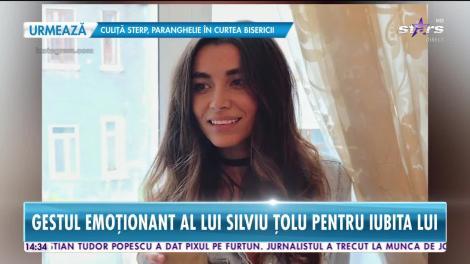 Lili Sandu, emoţionată până la lacrimi de iubitul ei