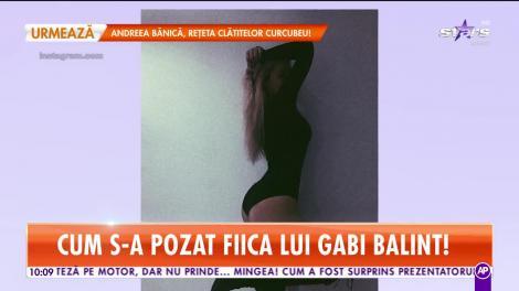 Gabi Balint are cu ce se lăuda! Fiica lui s-a transformat într-o bombă sexy!