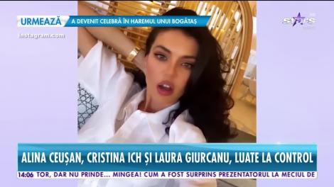 Scandal ca la uşa cortului cu divele instagramului. Laura Giurcanu, Alina Ceuşan, Cristina Ich sunt acuzate că nu au locuri de muncă!