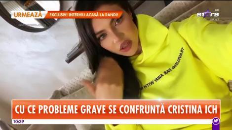Vacanță de coșmar pentru Cristina Ich! Vedeta a ajuns pe perfuzii!